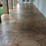 Grand Flagstone Stamped Concrete | Reeves Concrete Solutions